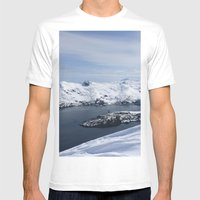 Blackstone Bay Mens Fitted Tee White SMALL