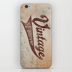 Vintage Forever iPhone & iPod Skin