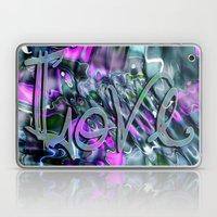 Liquid Love By Artist Mc… Laptop & iPad Skin
