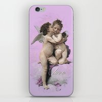 First Kiss Pink iPhone & iPod Skin