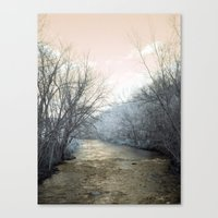 February Rust Canvas Print