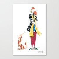 Bo & Betina Canvas Print