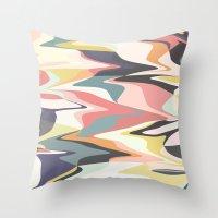 Deco Marble Throw Pillow