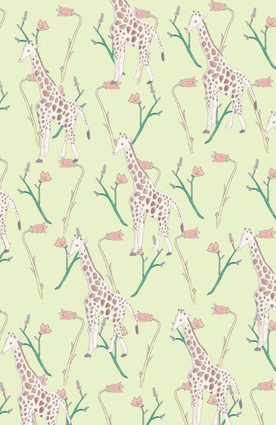 giraffe giraffe giraffe  Art Print