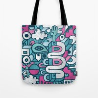 ABSTRACT 0016 Tote Bag