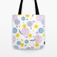 Summer Buzz Tote Bag