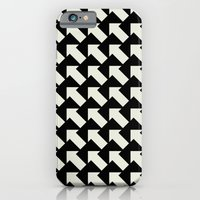 iPhone & iPod Case featuring White Arrows by Stoflab