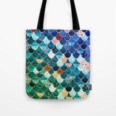 REALLY MERMAID TIFFANY Tote Bag