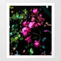 Rose Garden - Free Shipp… Art Print