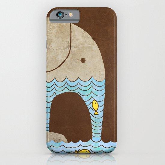Thirsty Elephant  iPhone & iPod Case