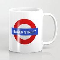 Sherlock Baker Street Pr… Mug