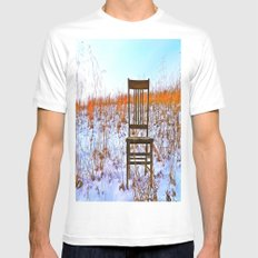 Winter Can Be Lonely Mens Fitted Tee SMALL White