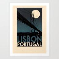 Art Print featuring Portugal - Lisbon by Rui Ricardo