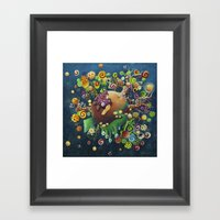 The Hiding-place Of The … Framed Art Print