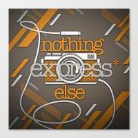 Express Canvas Print