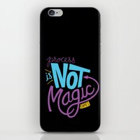 Process Is Not Magic  iPhone & iPod Skin