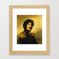 Frank Zappa - Replacefac… Framed Art Print