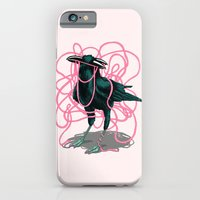iPhone & iPod Case featuring Crow by Devin McGrath