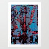 disquiet nine (uma confiança quebrada) Art Print