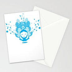 The Silent Monkey Stationery Cards