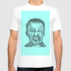 Thom Yorke SMALL Mens Fitted Tee White