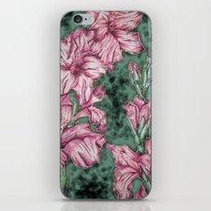 Pink Gladiolas iPhone & iPod Skin