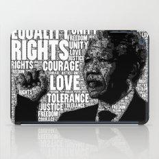 Mandela tribute iPad Case