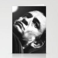 8-bit Johnny Cash Stationery Cards