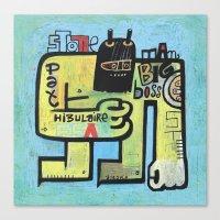 Pat Hibulaire  Canvas Print