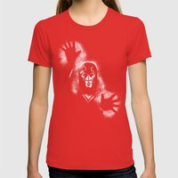Erik The Magnus Womens Fitted Tee Red SMALL