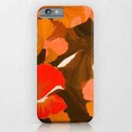 Donna's Autumn Woodcut iPhone 6 Slim Case