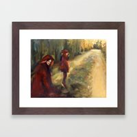 Agnes - Autumn Framed Art Print