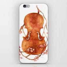 Sakura Violin iPhone & iPod Skin