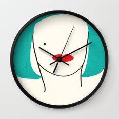Teal Ambition Wall Clock