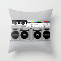 1 kHz #10 Throw Pillow