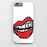 Rough Sketch Of Lips. iPhone 6 Slim Case