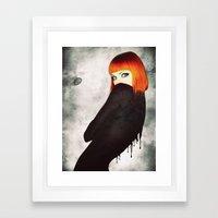 The Girl 5 Framed Art Print
