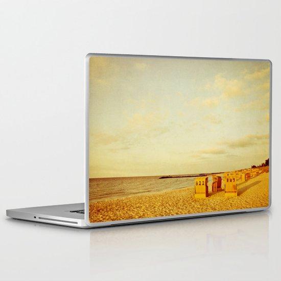 golden light Laptop & iPad Skin