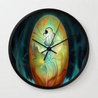 Tzadqiel Egg Wall Clock