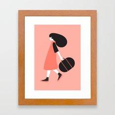 Seek Adventure Framed Art Print