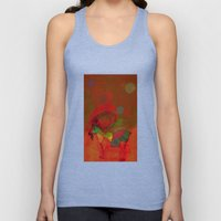 peaceful and happy Unisex Tank Top