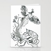 King Phoenix Stationery Cards
