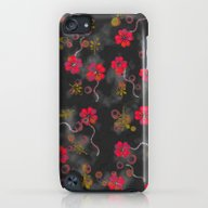 Floating Flowers iPod touch Slim Case