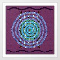 Modern Aboriginal 3 Art Print