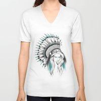 Indian Headdress Unisex V-Neck