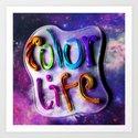 Color Life 3D Art Print