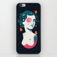 Rebel Girl iPhone & iPod Skin