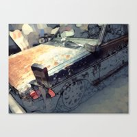 Datsun Canvas Print