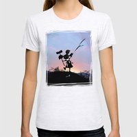 Harley Kid Womens Fitted Tee Ash Grey SMALL