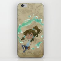 Chibi Korra iPhone & iPod Skin
